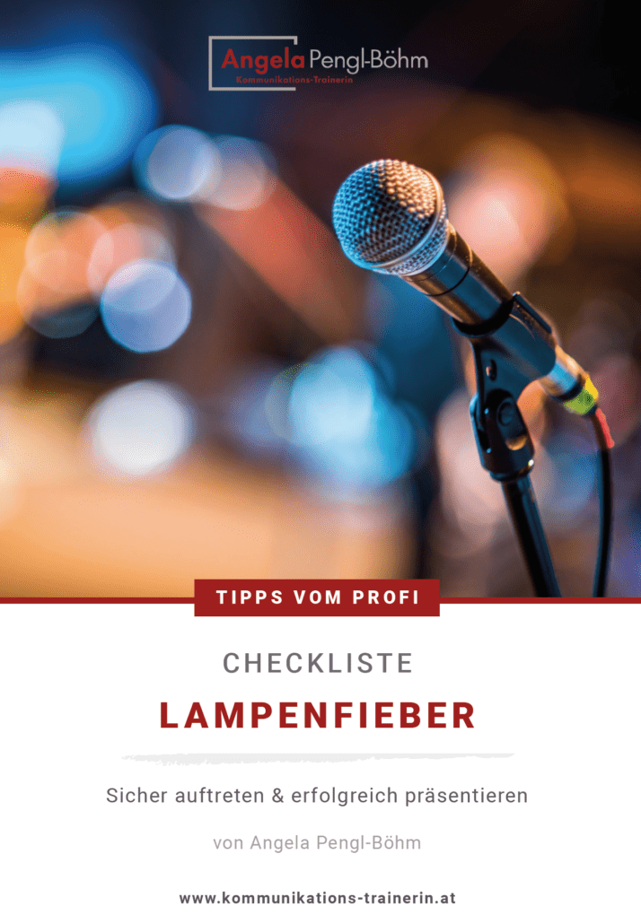 Checkliste Lampenfieber