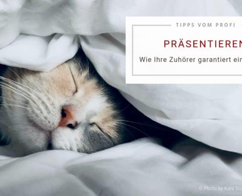 Wie Ihre Zuhörer garantiert einschlafen